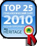 ТОП 25 Генеалогических сайтов